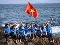 Mahasiswa  Vietnam dengan laut dan pulau Tanah Air tahun 2017