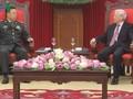 Pemimpin  Partai dan Negara Vietnam menerima Wakil Ketua Komisi Militer Sentral Tiongkok, Fan Changlong