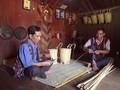 チュル族の伝統的なカゴの保存