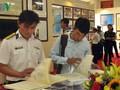 ベトナム海軍の第2軍管区で、ホアンサとチュオンサ両群島の展示会