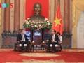 クアン国家主席、ロシア連邦経済開発大臣と会見