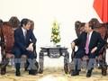 フック首相、梅田在ベトナム日本大使と会見