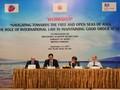日本大使館など、「海上での法の支配」ワークショップを開催