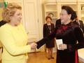 ガン国会議長、ロシアの連邦議会上院議長らと会見