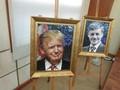 APEC指導者らの陶器肖像画展示会