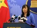 外務省報道官、再び中国に講義