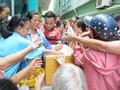 Charity meals help ease poor patients' burden