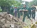 台風10号の被災地、台風被害の克服に取り組む