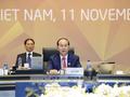 APECの第25回首脳会議、ダナン宣言を採択