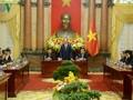 クアン主席、APEC首脳会議の支援者と会見