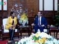 クアン国家主席、南アフリカ大使と会見