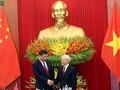 中国媒体深入报道习近平的访越活动