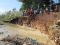 Measures to prevent landslides in the Mekong Delta