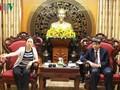 越南之声广播电台与中国广西人民广播电台加强业务合作
