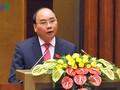 Premierminister Nguyen Xuan Phuc empfängt Kambodschas Premierminister Hun Sen