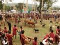 Arieu ping-Festival der Pa Ko