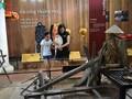 Besuch beim Museum für landwirtschaftliche Werkzeuge an der Thanh Toan-Brücke