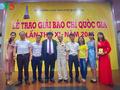 Lễ trao Giải Báo chí Quốc gia 2016