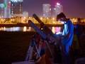 Giới trẻ Hà Nội hào hứng với các sự kiện thiên văn