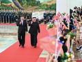 Kim Jong-un rencontre Xi Jinping à Pékin