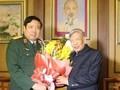 Verteidigungsminister Thanh beglückwünscht hochrangige Offiziere