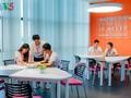 Perpustakaan teknologi tinggi menyampaikan inspirasi kepada mahasiswa