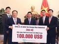 Deputi PM Vietnam, Pham Binh Minh menerima Presiden Taekwang, Park Yen Cha