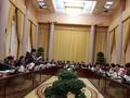 Kantor Presiden mengadakan jumpa pers untuk mengumumkan beberapa UU yang diesahkan MN angkatan XIV