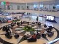 Оживлённая атмосфера в Международном журналистском центре АТЭС