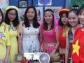 Sinh viên Việt Nam giới thiệu văn hóa dân tộc nhân kỷ niệm  428 năm Thành phố Volgograd