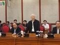 Tổng Bí thư Nguyễn Phú Trọng cho rằng Hà Nội cần bứt phá mạnh mẽ hơn nữa trong những năm tới