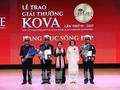 Giải thưởng KOVA lần thứ 15 vinh danh 2 công trình và nhiều tấm gương