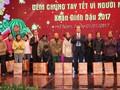 Numerosas localidades vietnamitas celebran actividades a favor de los pobres