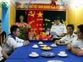 Compatriotas del distrito Truong Sa celebran nueva primavera con felicidad y prosperidad