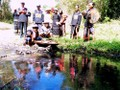 Los Ede y su particular ritual en honor al agua