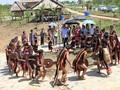 Upacara menyambut nasi baru dari warga etnis minoritas Xo Dang