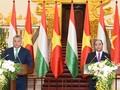 Pembicaraan tingkat tinggi Vietnam-Hungaria