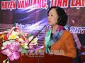 Kepala Departemen Penggerakan Masa Rakyat Truong Thi Mai menghadiri Hari Pesta Persatuan Besar Nasional di Propinsi Lang Son