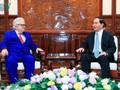 Чан Дай Куанг принял послов зарубежных стран во Вьетнаме