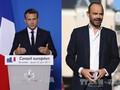 法国总统马克龙和总理菲利普的支持率持续上升