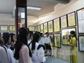 昆嵩省玉回县举行黄沙与长沙资料展