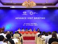 APEC representatives inspect Summit venues