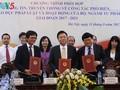 Ký kết chương trình phối hợp giữa Bộ Tư pháp với Đài Tiếng nói Việt Nam và Đài Truyền hình Việt Nam