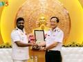 Tư lệnh Hải quân Việt Nam  tiếp Tư lệnh Hải quân Philippines