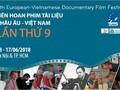 Khai mạc Liên hoan phim tài liệu châu Âu - Việt Nam lần thứ 9