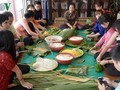 """วิธีการทำขนมข้าวต้มมัดใหญ่เวียดนามหรือ """"แบ๊งห์จึง"""""""