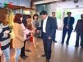 ประธานสถานีวิทยุเวียดนามอวยพรปีใหม่เจ้าหน้าที่ส่วนกระจายเสียงต่างประเทศ