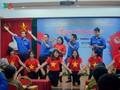 กองเยาวชนสถานีวิทยุเวียดนามมุ่งสู่การรำลึกวันทหารทุพพลภาพและพลีชีพเพื่อชาติ
