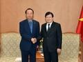 Phó Thủ tướng Trịnh Đình Dũng tiếp Chủ tịch, Tổng Giám đốc Công ty Điện lực Nam Hàn Quốc