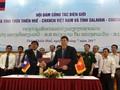 Tăng cường hợp tác nhiều mặt giữa các địa phương Việt Nam - Lào